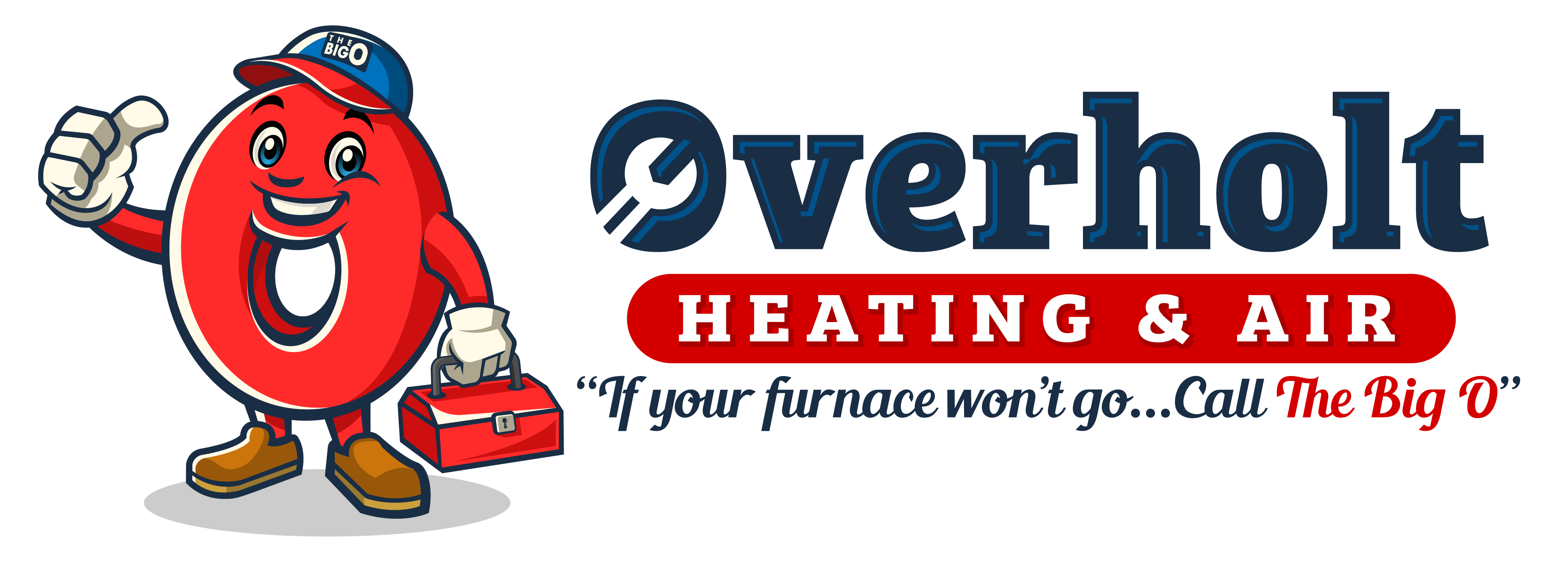Overholt Heating and Air logo